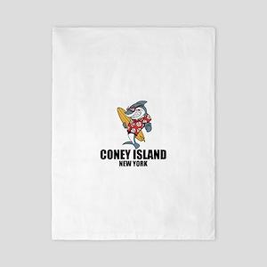 Coney Island, New York Twin Duvet