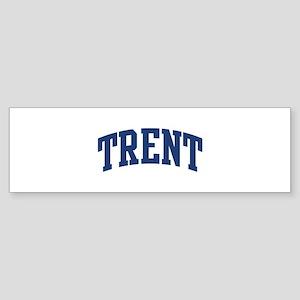 TRENT design (blue) Bumper Sticker