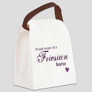Friesian horse Canvas Lunch Bag