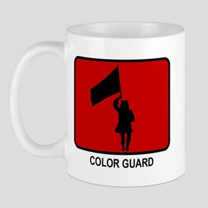 Color Guard (red) Mug