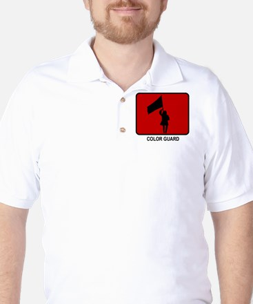 Color Guard (red) Golf Shirt