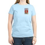 Ethel Barrymore-It Girl-1914 Women's Pink T-Shirt