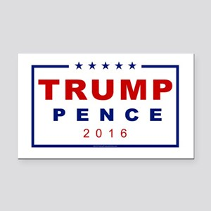 Modern Trump Pence 2016 Rectangle Car Magnet