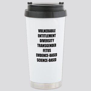 Banned Terms 16 oz Stainless Steel Travel Mug
