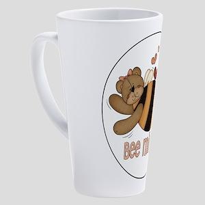 BEE MINE BEAR 17 oz Latte Mug