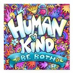 Humankind Be Both Magnetsquare Car Magnet 3""