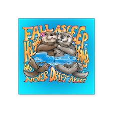 Fall Asleep Holding Hands Sticker