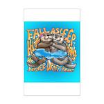 Fall Asleep Holding Hands Mini Poster Print
