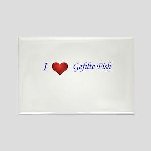 i love gefilte fish Rectangle Magnet