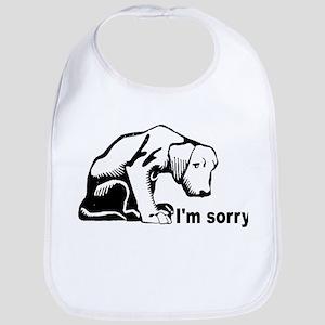 I'm sorry puppy Bib