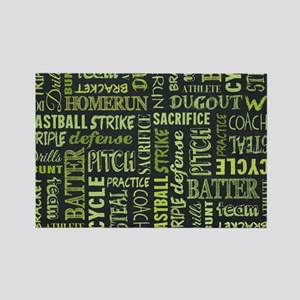 Fastpitch Softball Game Magnets