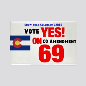 Vote Yes on 69 Magnets