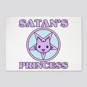 Satan's Princess Cute 5'x7'Area Rug