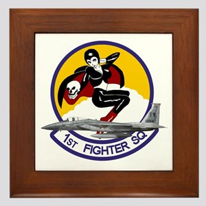 1st Fighter Squadron Framed Tile
