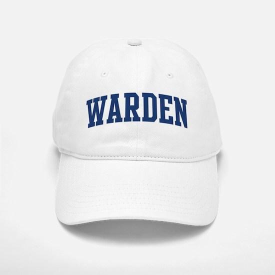 WARDEN design (blue) Baseball Baseball Cap