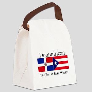 Dominirican Canvas Lunch Bag