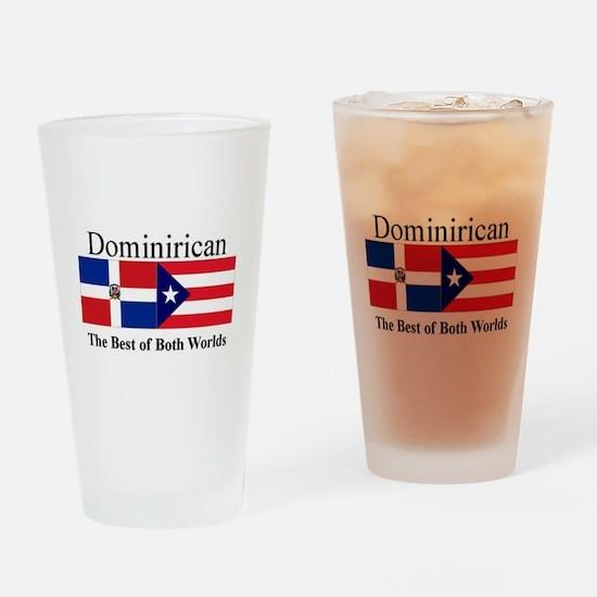 Dominirican.jpg Drinking Glass