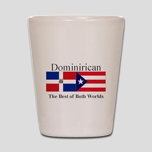 Dominirican Shot Glass