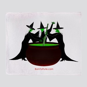 Witches Flute Brew Throw Blanket