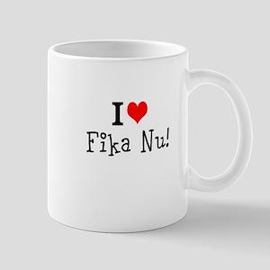 I Heart Fika Nu Mugs