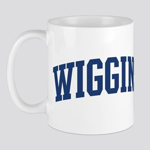 WIGGINS design (blue) Mug