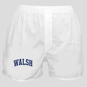 WALSH design (blue) Boxer Shorts