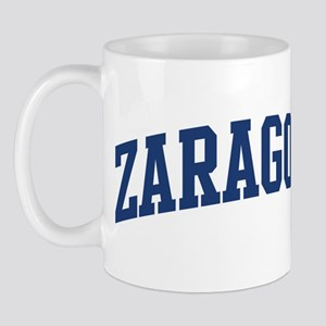 ZARAGOZA design (blue) Mug