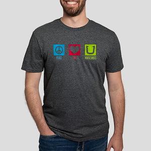 Peace Love Horseshoes T-Shirt
