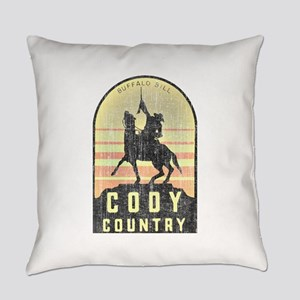 Vintage Cody Country Everyday Pillow