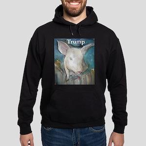 Anti Trump, pig Hoodie