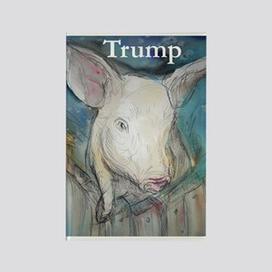 Anti Trump, pig Magnets