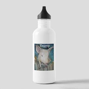 Anti Trump, pig Water Bottle