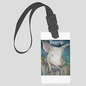 Anti Trump, pig Luggage Tag