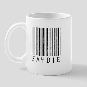 Zaydie Barcode Mug