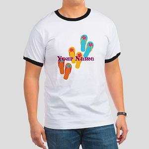 Personalized Flip Flops T-Shirt
