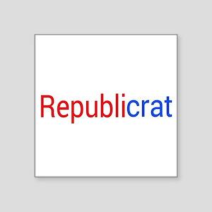 Republicrat Sticker