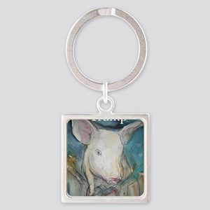 Anti Trump, pig Keychains