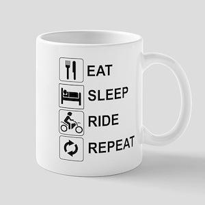 EAT, SLEEP, RIDE, REPEAT - MOTORCYCLE Mugs