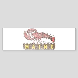 Vintage Maine Lobster Bumper Sticker