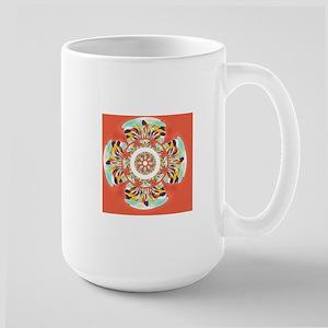Colorful mandala Mugs