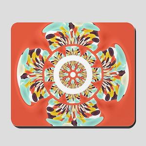 Colorful mandala Mousepad