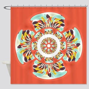 Colorful Mandala Shower Curtain