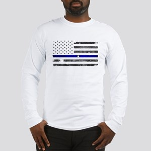 Thin Blue Line - Blue Lives Ma Long Sleeve T-Shirt