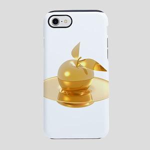 Melting Golden Apple iPhone 8/7 Tough Case