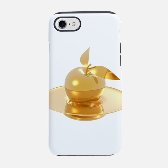 Melting Golden Apple iPhone 8/7 Tough Case