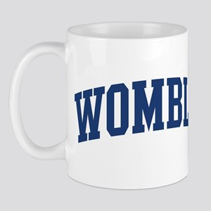 WOMBLE design (blue) Mug