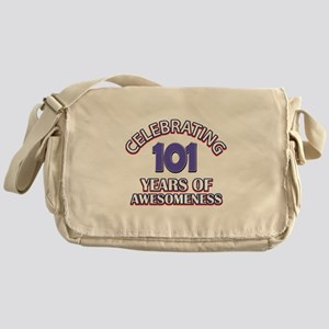 Celebrating 101 Years Messenger Bag