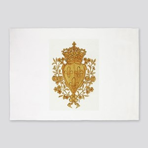 Royal Arms of France in Or 5'x7'Area Rug