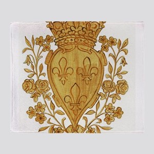 Royal Arms of France in Or Throw Blanket