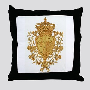 Royal Arms of France in Or Throw Pillow